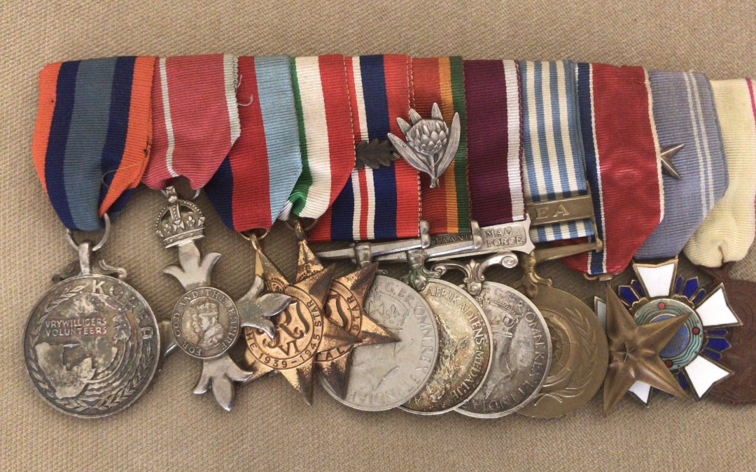 Numbering and Naming of South African WW2 Medals