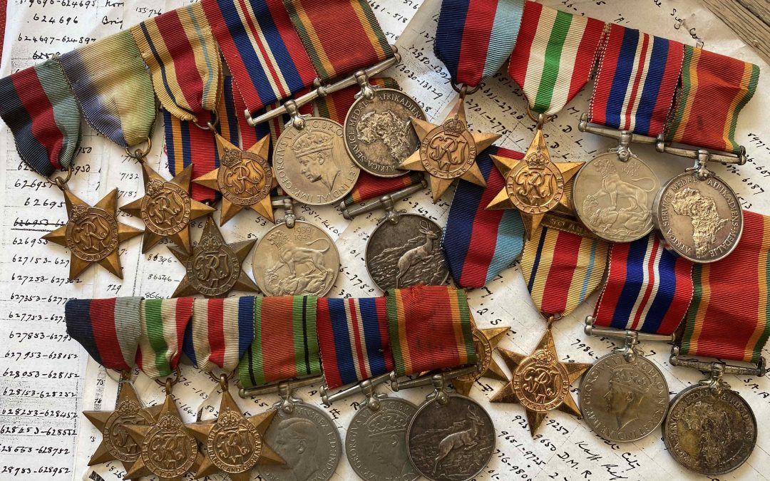 South Africa / Union Defence Forces WW2 Medals come alive …WW2 Service Block numbers.. South African WW2 medals demystified.  Use this document to quickly determine what regiment, unit or branch of service a person enlisted in.